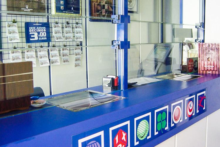 El interior de nuestra administración de loterias en Alboraya